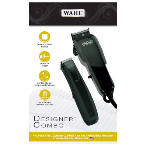 Wahl Designer Combo Professional Corded Clipper And Trimmer