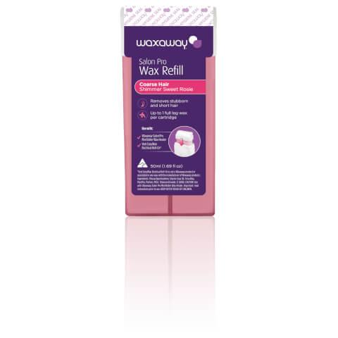 Waxaway Salon Pro Wax Refill Shimmer Sweet Rosie 50ml