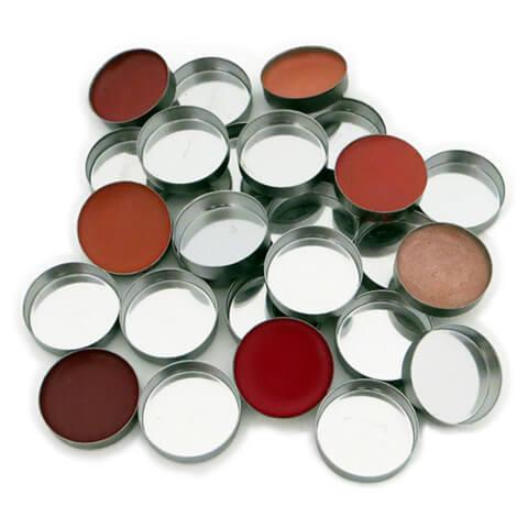 Z palette Mini Metal Round Metal Pans - 10 Pack