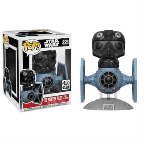 Figurine Pop! Chasseur TIE avec Pilote de TIE Star Wars
