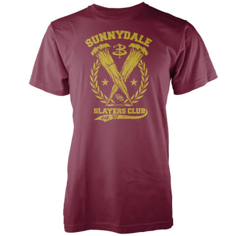 T-Shirt Sunnydale Slayers Club Buffy Contre les Vampires