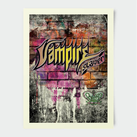 Poster Buffy Contre les Vampires Vampire Slayer 30 x 40 cm