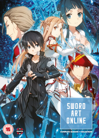 Sword Art Online Complete Season 1 Collection (Episodes 1-25)