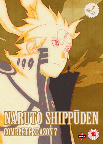 Naruto Shippuden Complete Series 7 Box Set (Episodes 297-348)