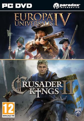 Crusader Kings II & Europa Universalis IV - Lot Double