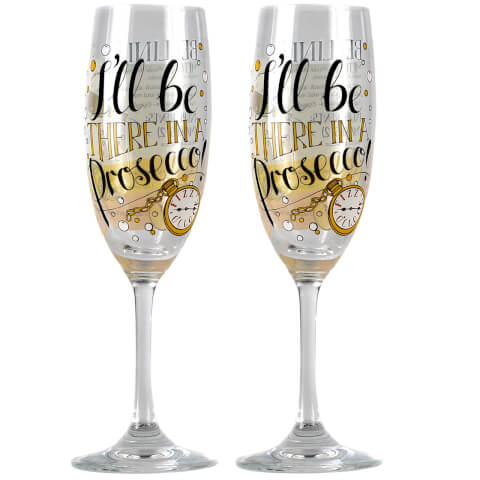 Measure Up Bellini Set of 2 Champagne Glasses