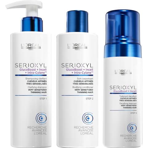 L'Oréal Professionnel Serioxyl Kit 3 for Sensitised Hair 625ml