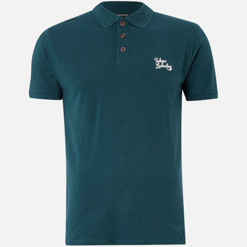 Tokyo Laundry Men's Winterfield Polo Shirt - Teal