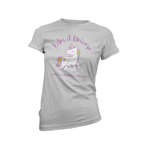 T-Shirt Femme I Am A Unicorn And I Don't Believe In Humans - Grios