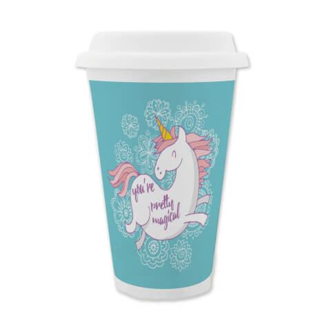 Pretty Magical Unicorn Travel Mug
