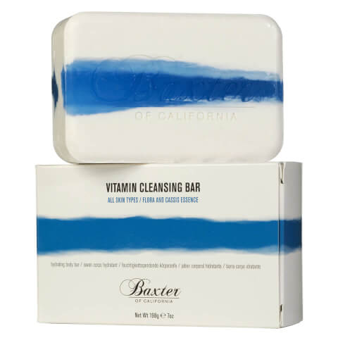 Baxter of California Vitamin Cleansing Bar Flora Cassis 198g