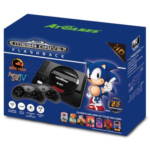 SEGA Mega Drive Mini HD With Wireless Controllers