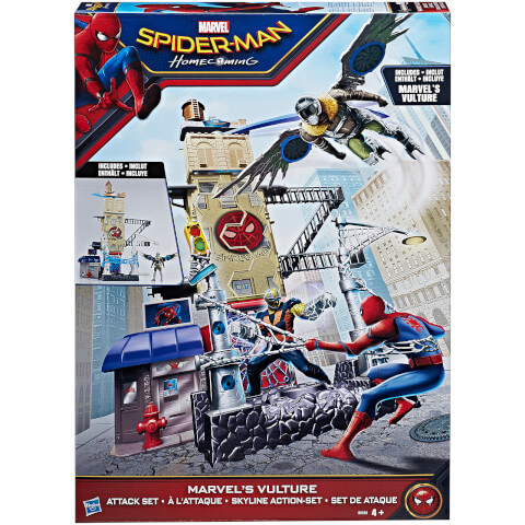 Marvel Spider-Man: Homecoming Vulture Attack Set