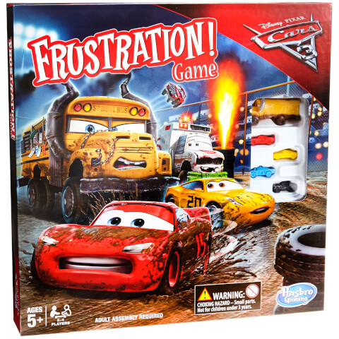Frustration: Cars 3 Edition