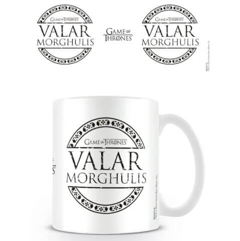Game of Thrones Coffee Mug (Valar Morghulis)