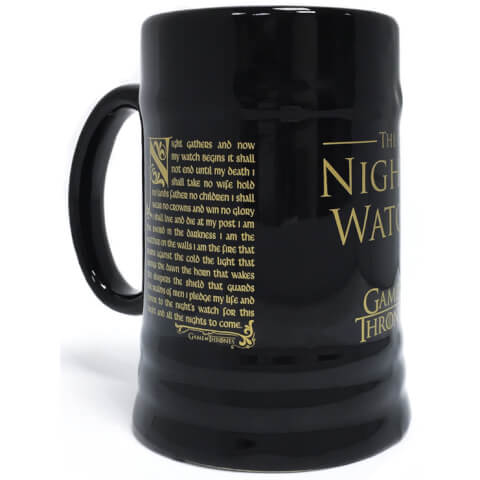 Chope Game of Thrones (Night's Watch Oath)