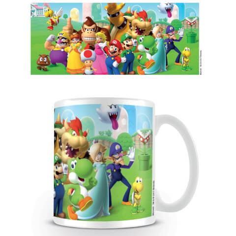 Super Mario Coffee Mug (Mushroom Kingdom)