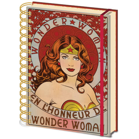 Wonder Women A5 Notebook (En L'Honneur De)