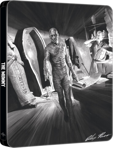 The Mummy (1932): Alex Ross Collection - Zavvi Exclusive Steelbook