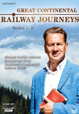 Great Continental Railways Journeys: Series 1-5