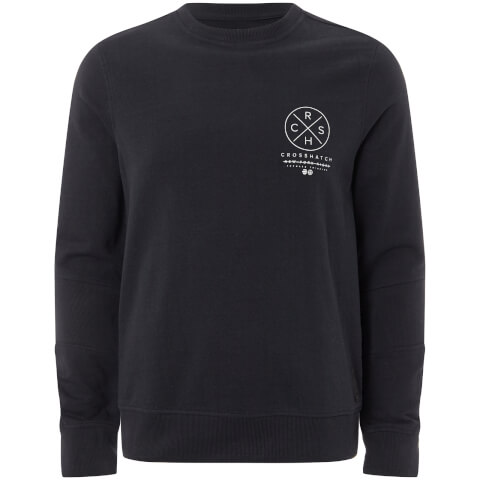 Crosshatch Men's Byram Sweatshirt - Night Sky