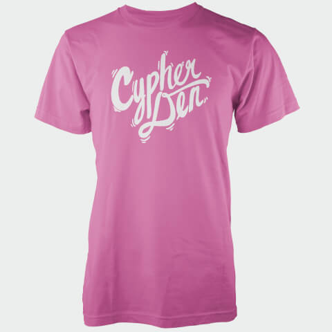 Cypherden White Chest Insignia Pink T-Shirt