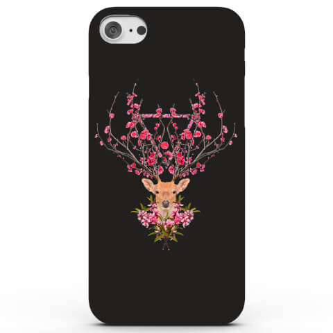 Coque iPhone & Android Cerf Printanière - 4 Couleurs