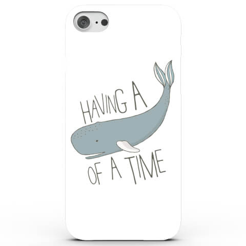 Coque iPhone & Android Having a Whale of a Time - 4 Couleurs