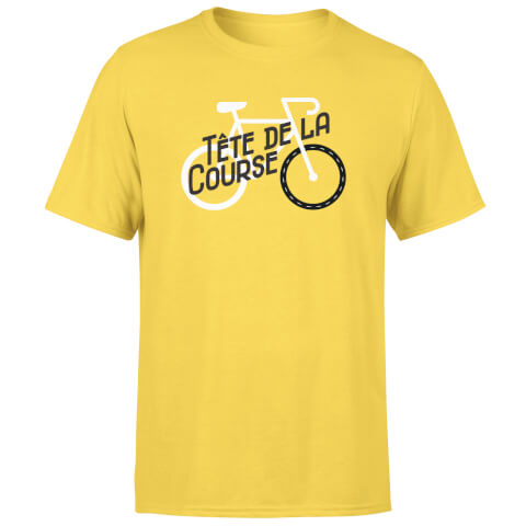 Tete De La Course Men's Yellow T-Shirt