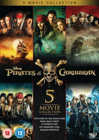 Pirates of the Caribbean: 1-5 Boxset