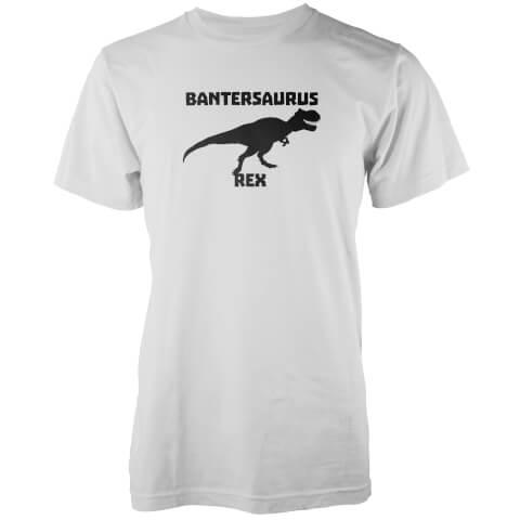 Bantersaurus Rex White T-Shirt