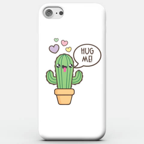 Kawaii Cactus Hug Me Phone Case For iphone
