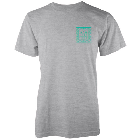 Native Shore Men's LAX 1989 T-Shirt - Light Grey Marl