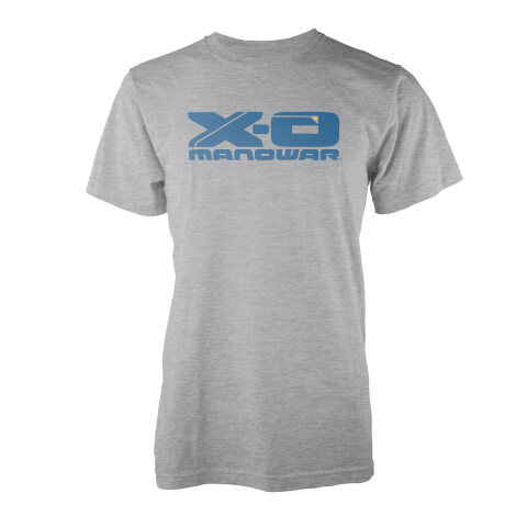 Valiant Comics X-O Manowar Logo T-Shirt - Grey