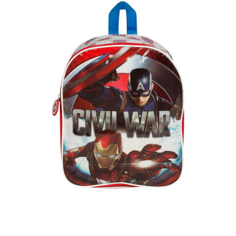 Marvel Captain America Civil War Backpack - Blue