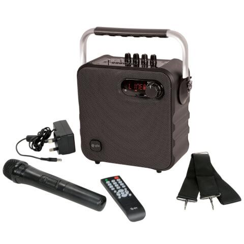 QTX Portable Bluetooth Party Speaker - Black