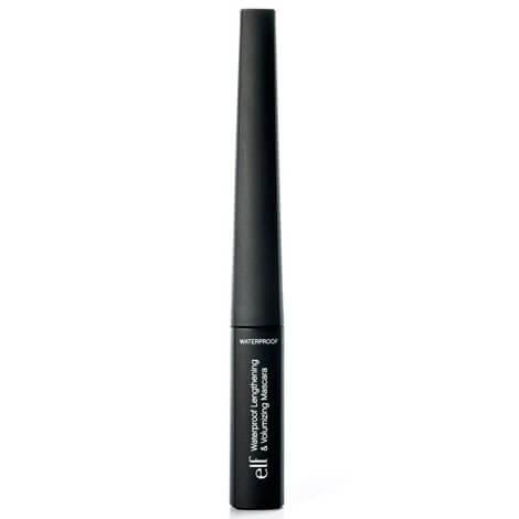 elf Cosmetics Waterproof Lengthening & Volumizing Mascara Black 9ml