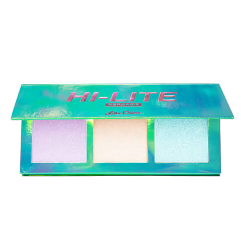 Lime Crime Hi-Lite Mermaids Glitter-n-Glow Highlighter Palette 21g
