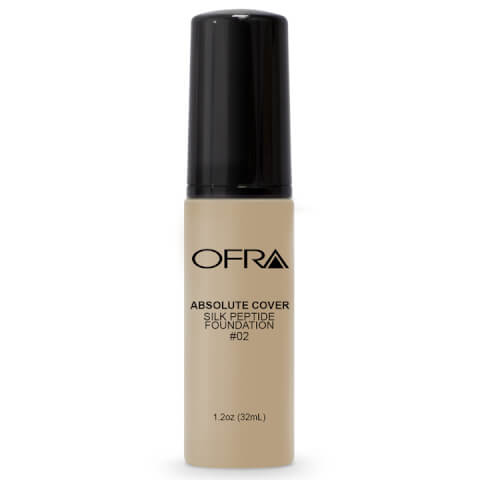 OFRA Absolute Cover Silk Peptide Foundation - 02 30ml