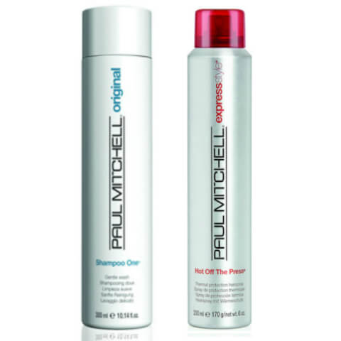 Paul Mitchell Shampoo One and Hot Off the Press Duo Pack