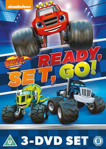 Blaze & The Monster Machines: Ready, Set, Go Collection! (Blaze Triple)