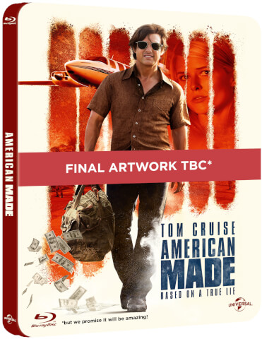 American Made - 4K Ultra HD Zavvi Exclusive Limited Edition Steelbook (Digital Download)