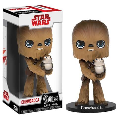 Funko Star Wars The Last Jedi: Chewbacca Wobbler