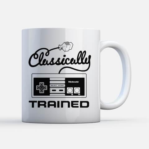 Nintendo NES Classically trained Mug