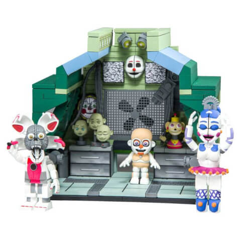 McFarlane Five Nights At Freddy's Control Module Large Action Figure Set With Ballora And Jumpscare Funtime Foxy