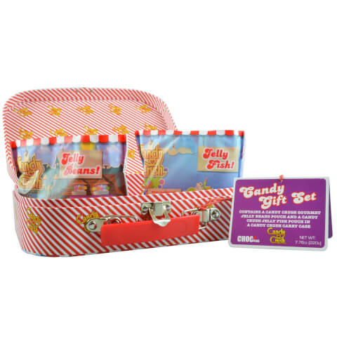 Candy Crush Mini Suitcase with Candy Gift Set