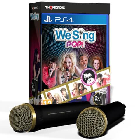 We Sing Pop 2 Mic Bundle