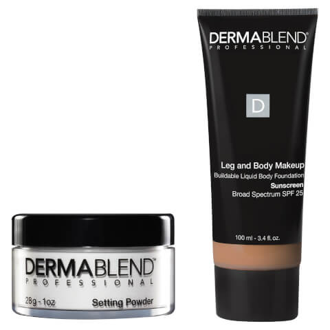 Dermablend Tattoo Coverage Set - 40N Med Natural