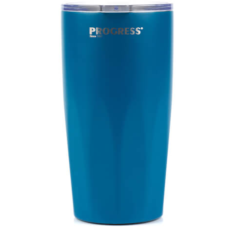 Progress Thermal Insulated Travel Cup with Lid 550ml - Blue
