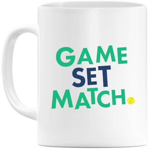 Game Set Match Mug